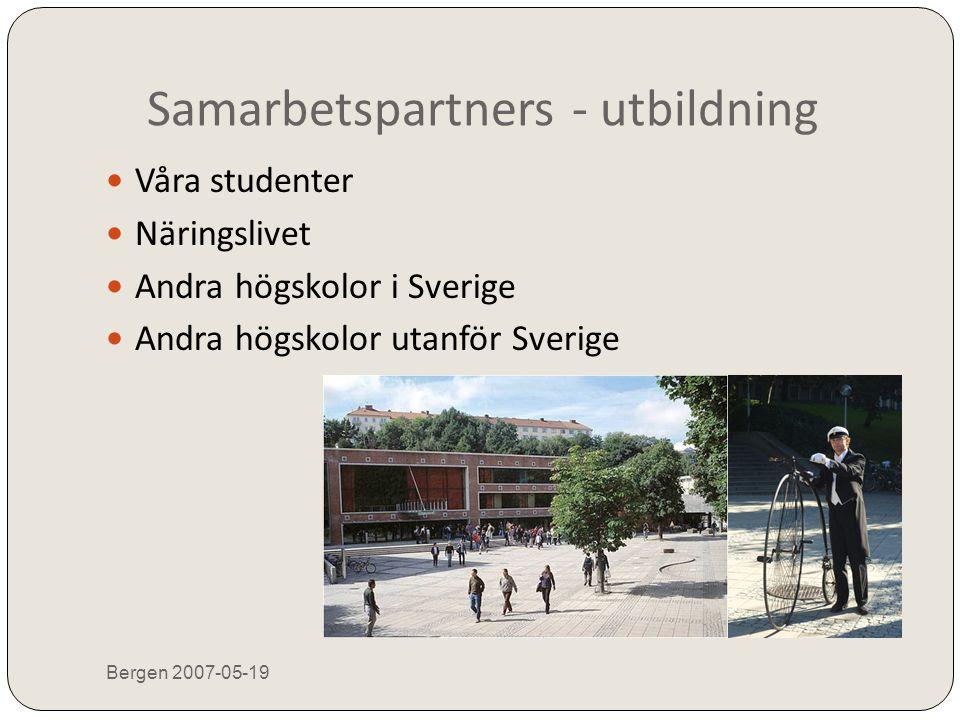 Samarbetspartners - utbildning