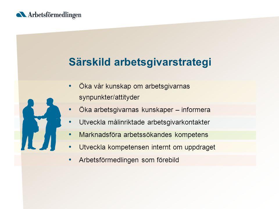 Särskild arbetsgivarstrategi