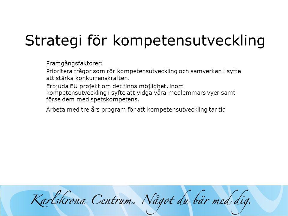 Strategi för kompetensutveckling