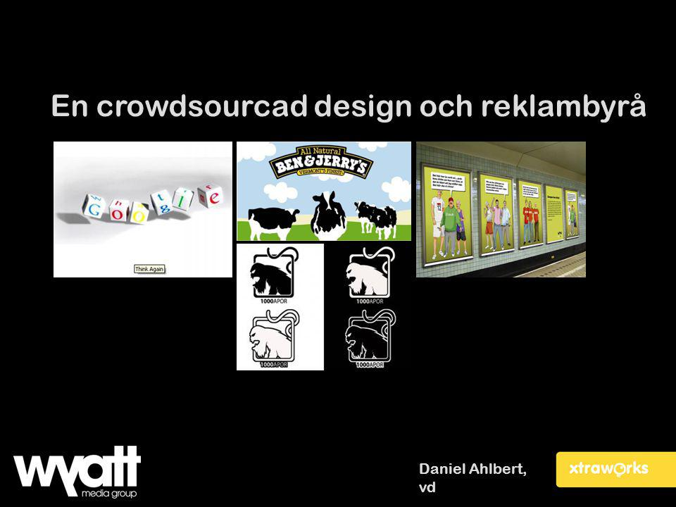 En crowdsourcad design och reklambyrå
