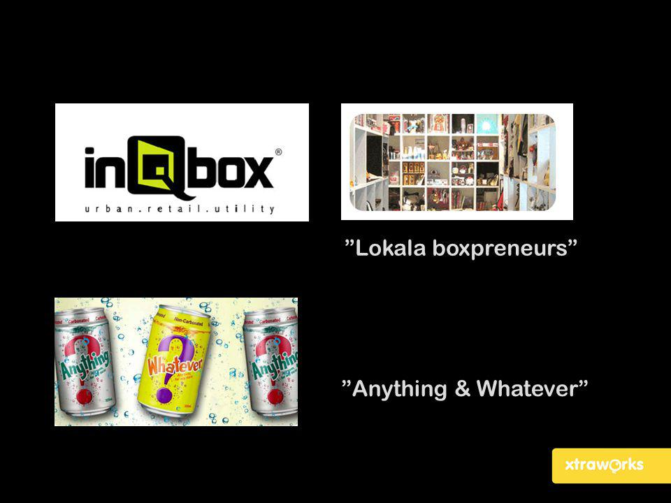 Lokala boxpreneurs Anything & Whatever