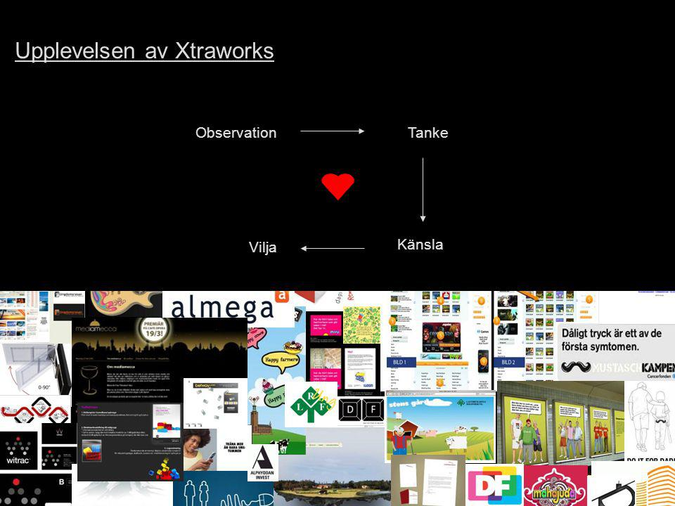 Upplevelsen av Xtraworks
