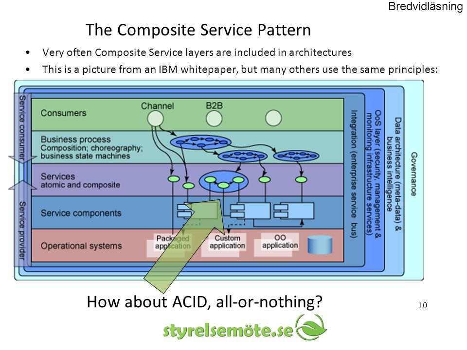The Composite Service Pattern