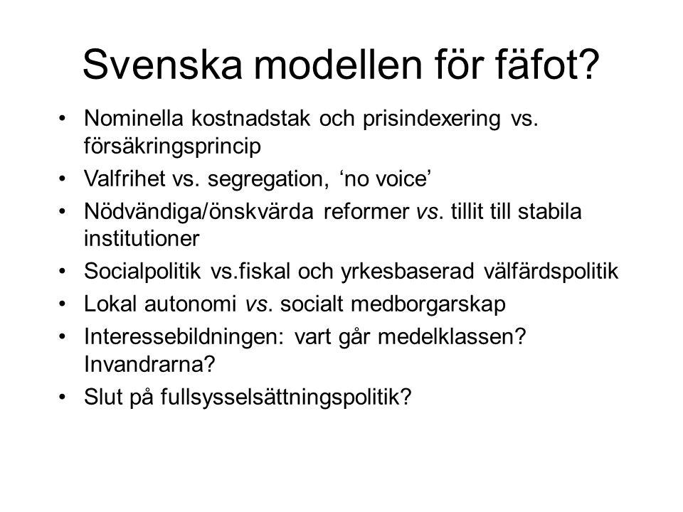 Svenska modellen för fäfot