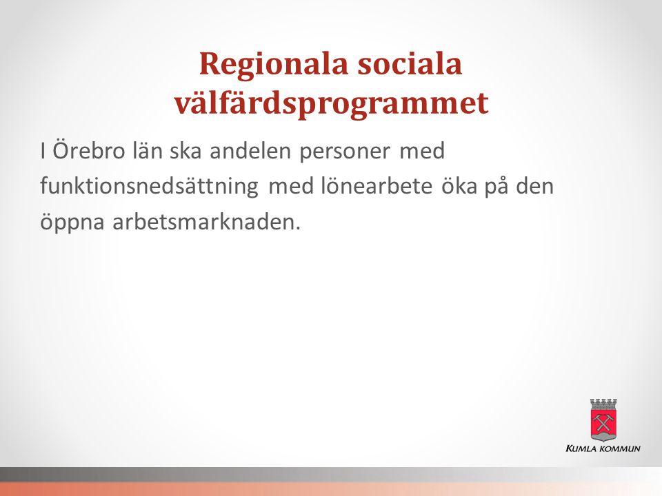 Regionala sociala välfärdsprogrammet