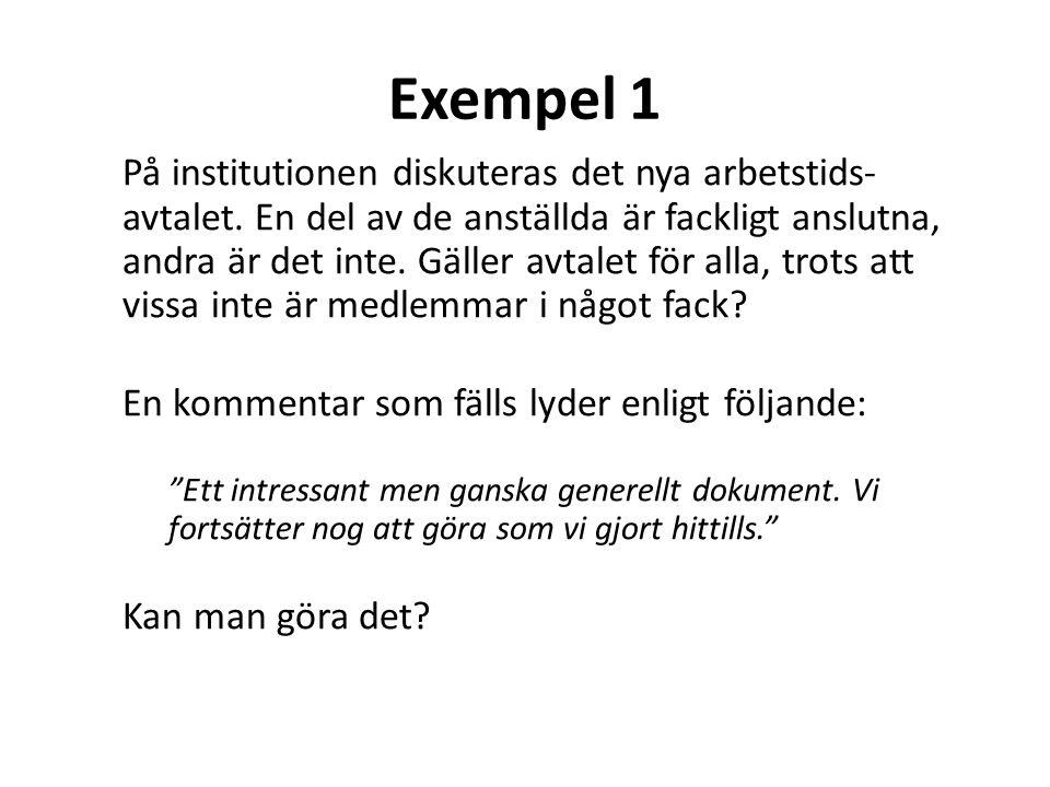 Exempel 1