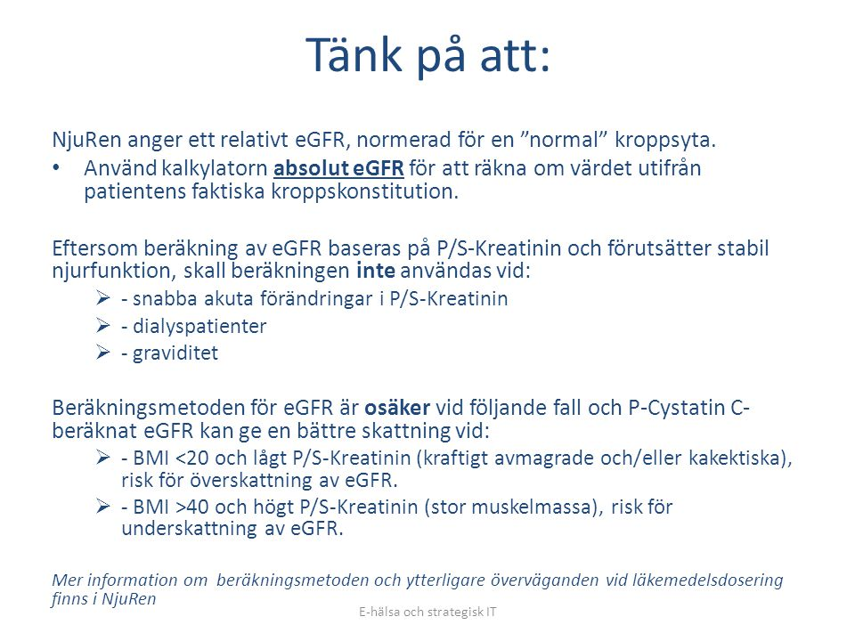E-hälsa och strategisk IT