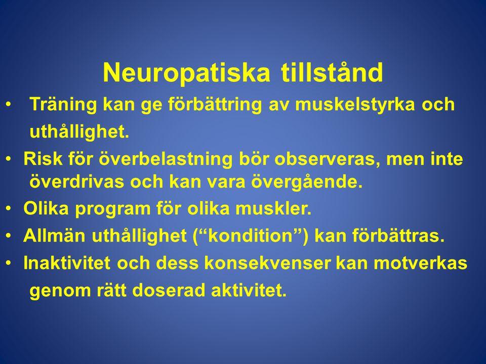 Neuropatiska tillstånd