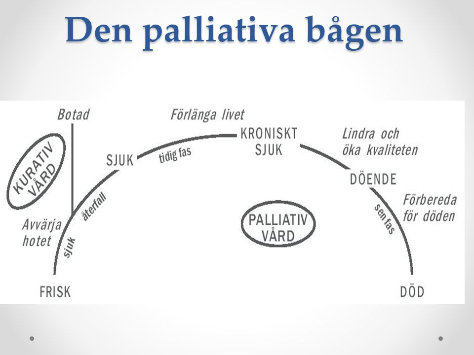 Den palliativa bågen