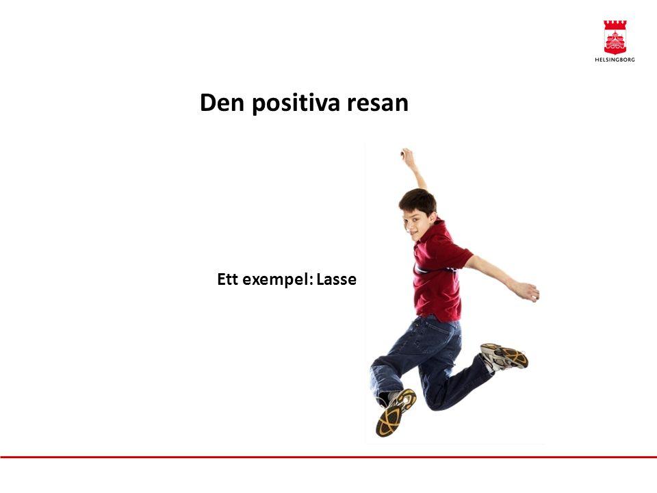 Den positiva resan Ett exempel: Lasse