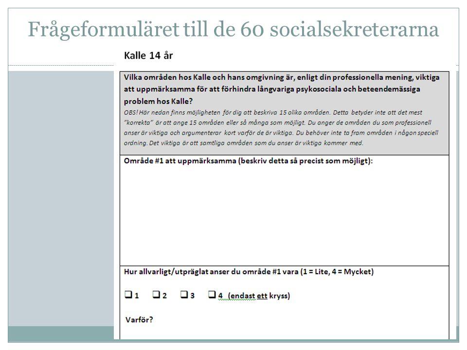 Frågeformuläret till de 60 socialsekreterarna