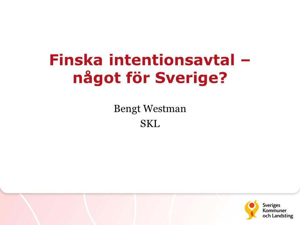 Finska intentionsavtal – något för Sverige