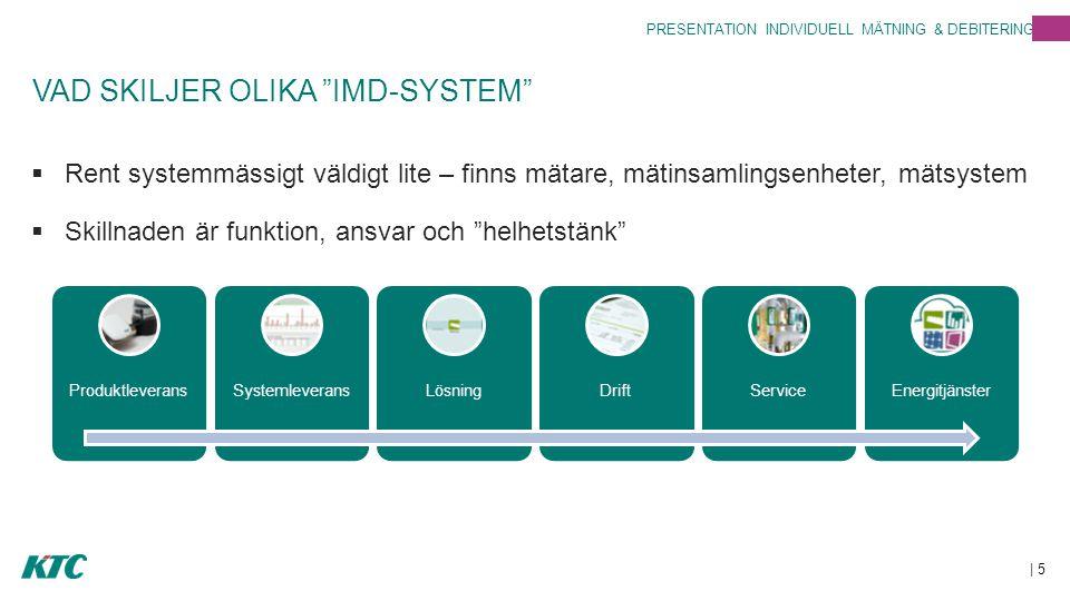 VAD SKILJER OLIKA IMD-SYSTEM