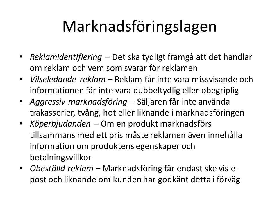 Marknadsföringslagen