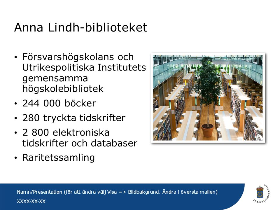 Anna Lindh-biblioteket