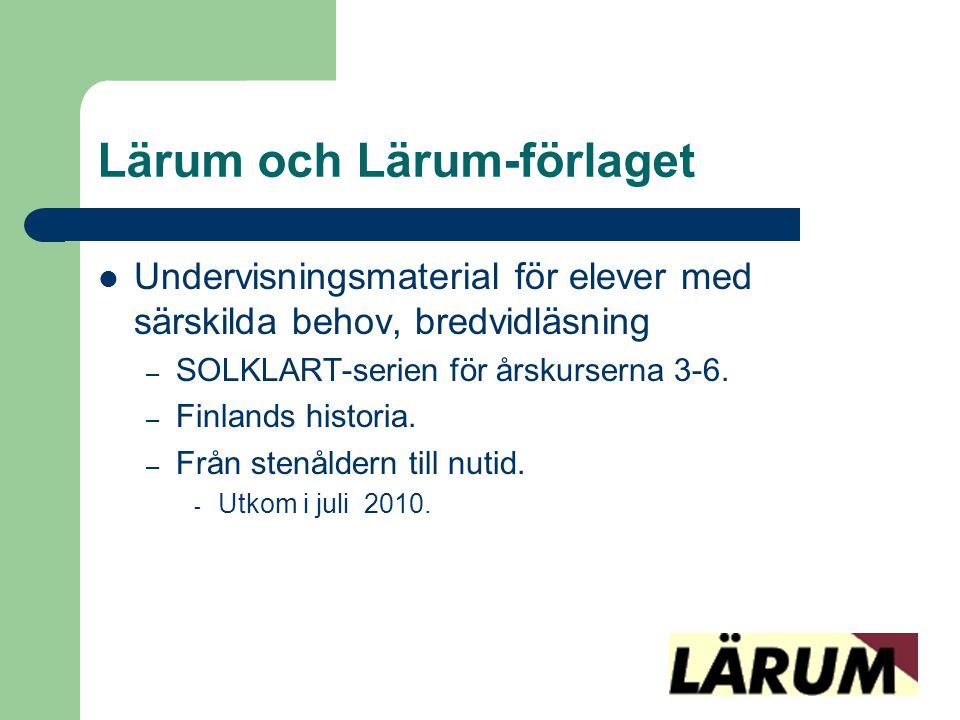 Lärum och Lärum-förlaget