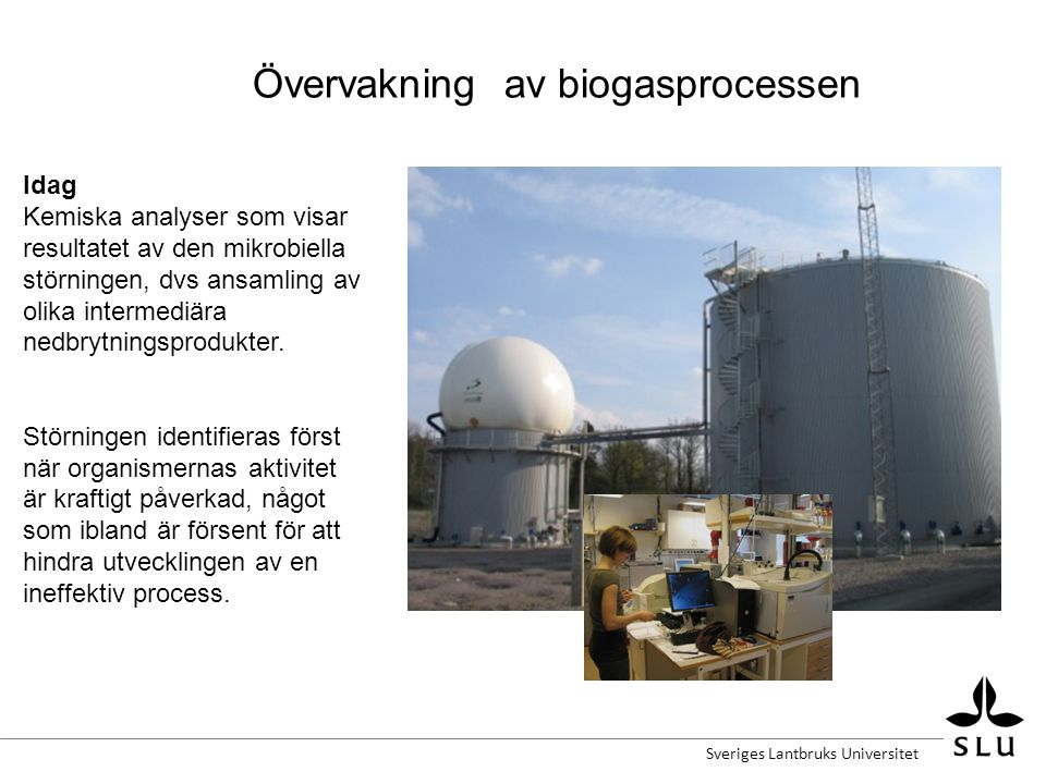 Övervakning av biogasprocessen