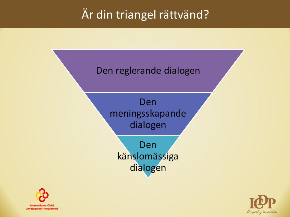 Är din triangel rättvänd