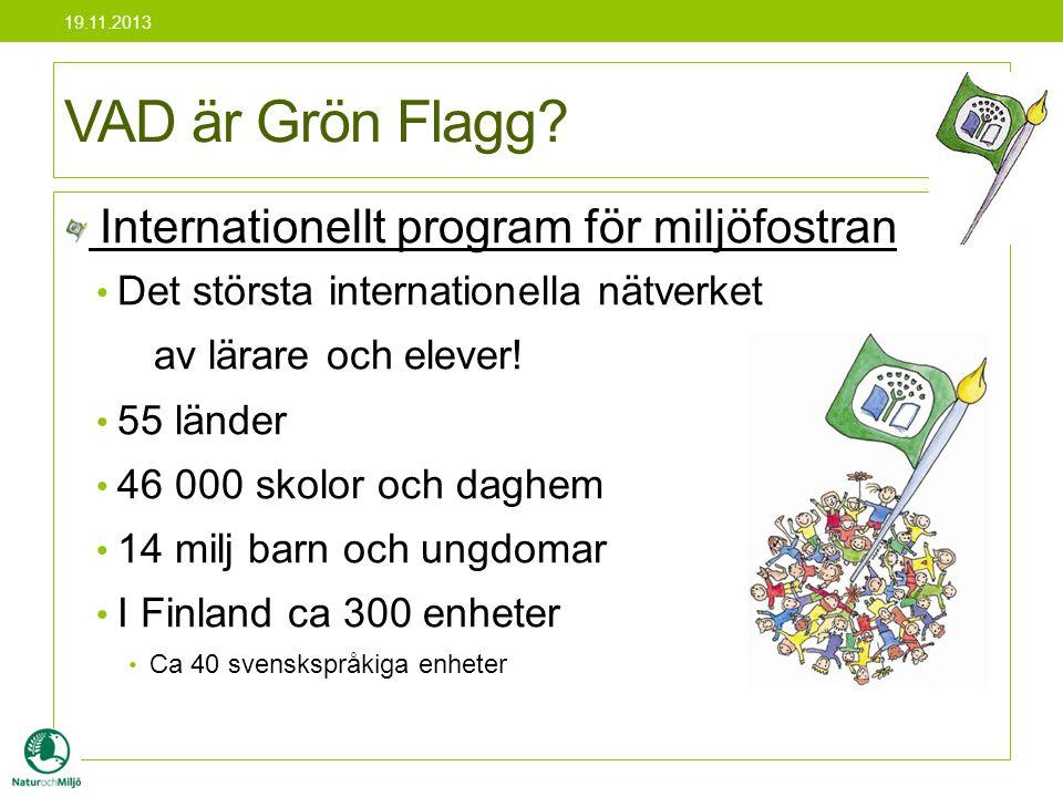 VAD är Grön Flagg Internationellt program för miljöfostran
