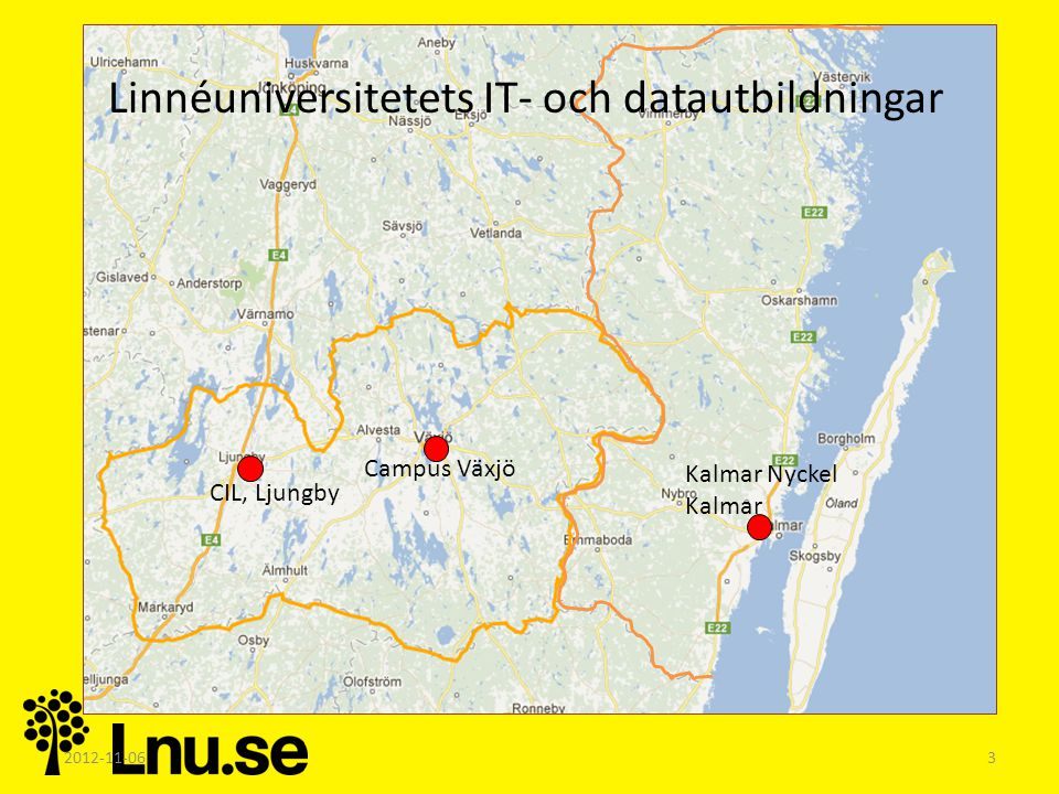 Linnéuniversitetets IT- och datautbildningar
