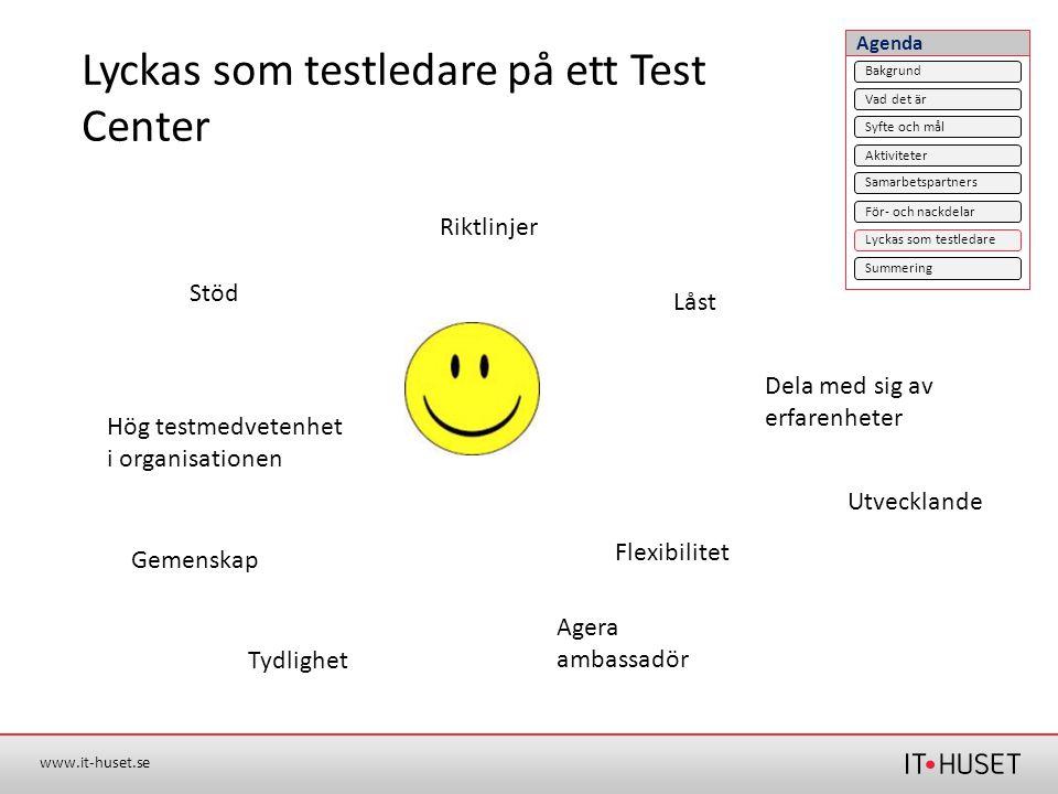 Lyckas som testledare på ett Test Center