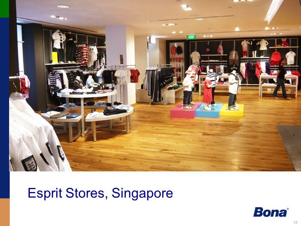 Esprit Stores, Singapore