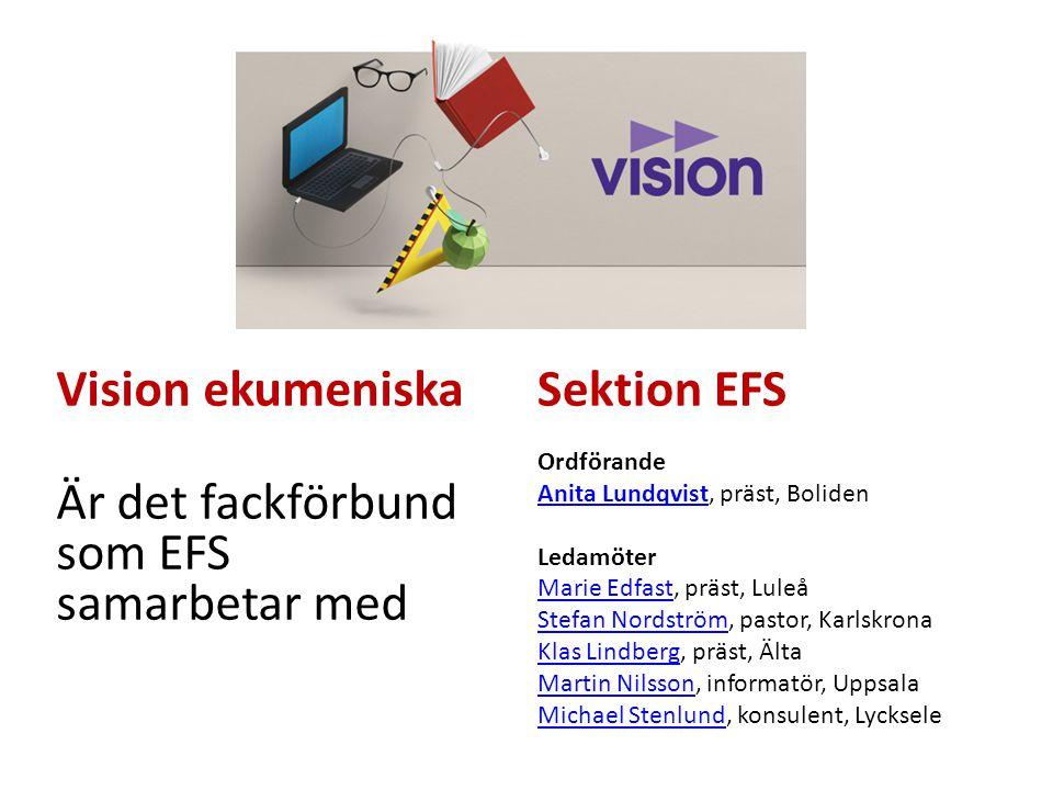 Är det fackförbund som EFS samarbetar med Sektion EFS