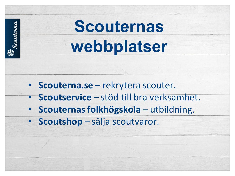 Scouternas webbplatser