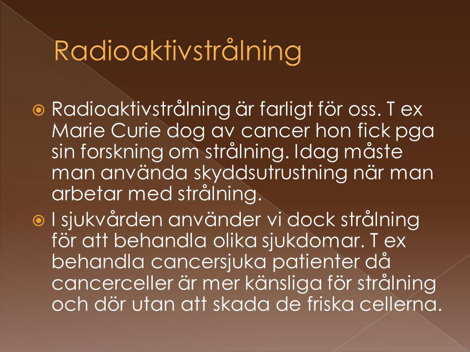 Radioaktivstrålning
