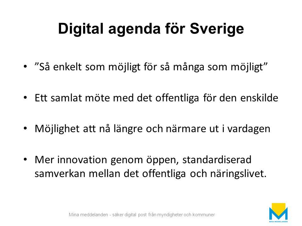 Digital agenda för Sverige