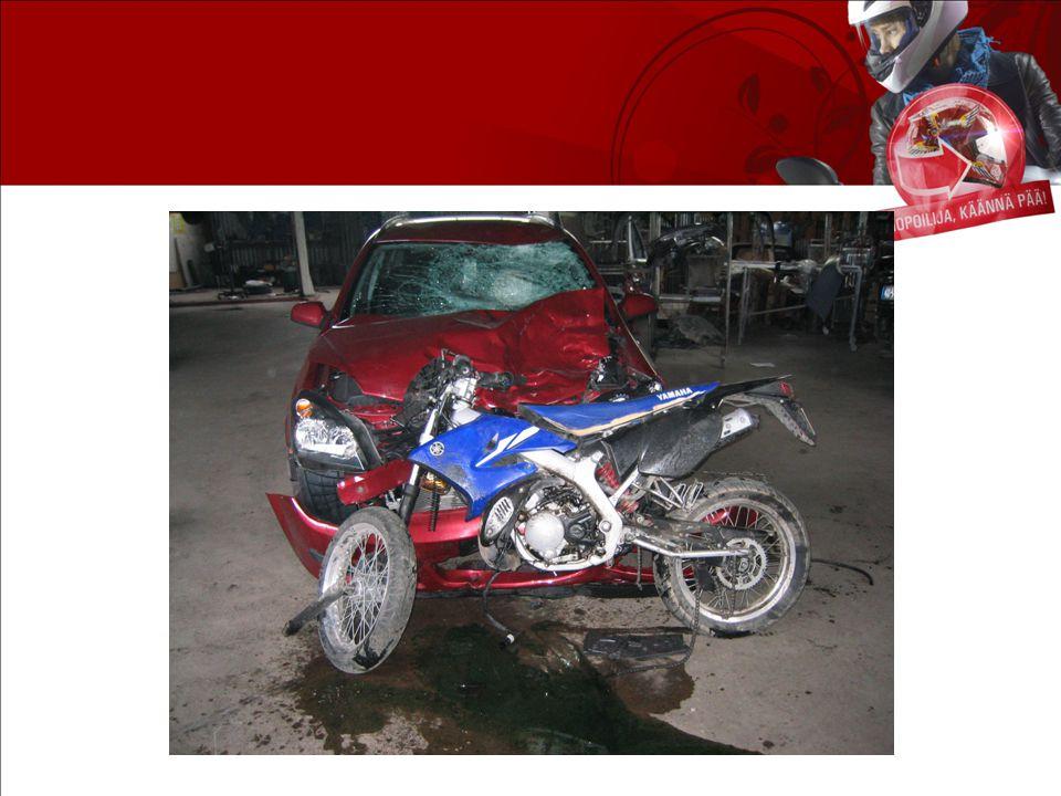 Den här historien förenar riskerna med mopedkörning: