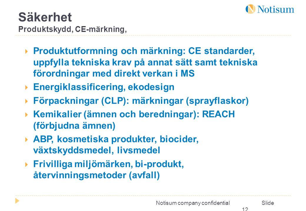 Säkerhet Produktskydd, CE-märkning,