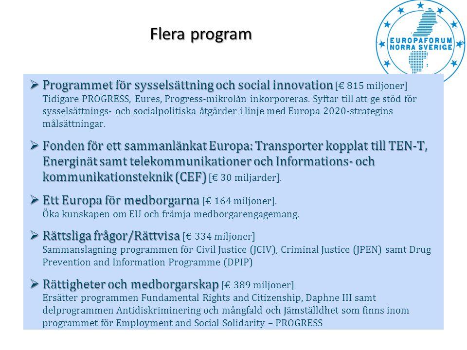 Flera program