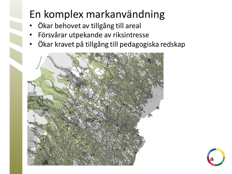 En komplex markanvändning
