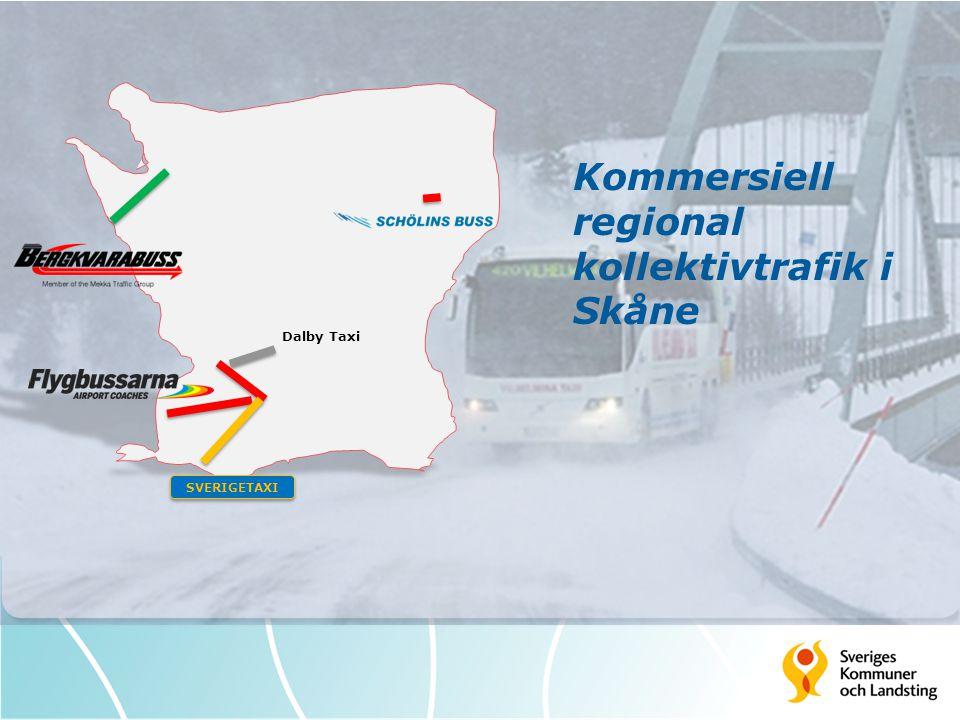 Kommersiell regional kollektivtrafik i Skåne