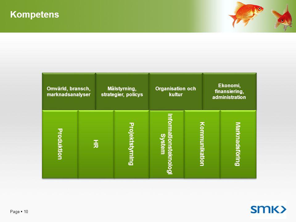 Kompetens Produktion HR Projektstyrning Informationsteknologi System