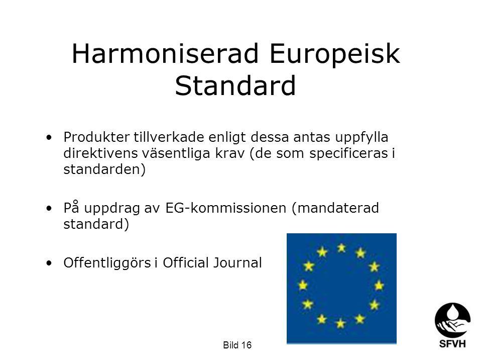 Harmoniserad Europeisk Standard