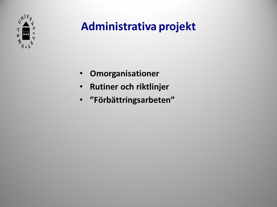 Administrativa projekt