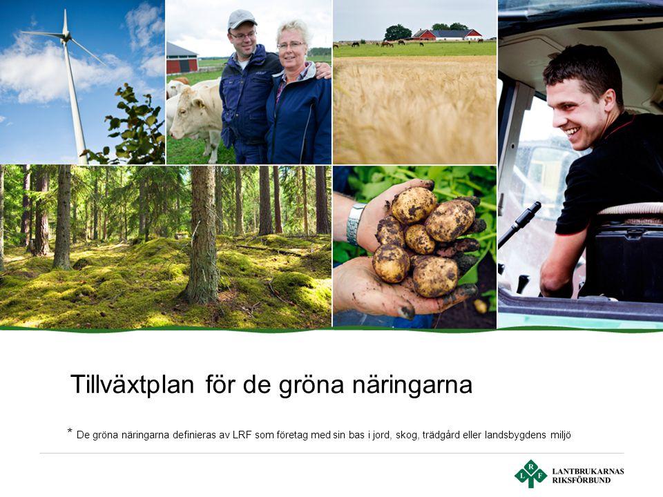Tillväxtplan för de gröna näringarna