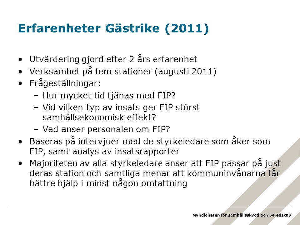 Erfarenheter Gästrike (2011)