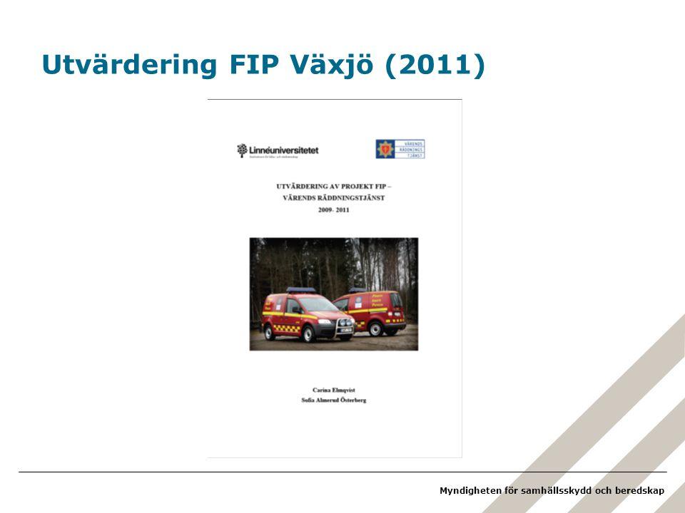 Utvärdering FIP Växjö (2011)