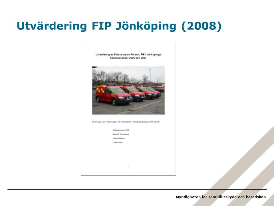 Utvärdering FIP Jönköping (2008)