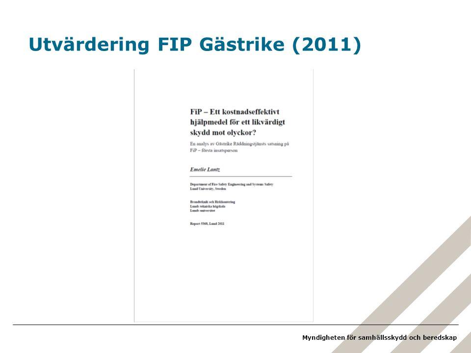 Utvärdering FIP Gästrike (2011)