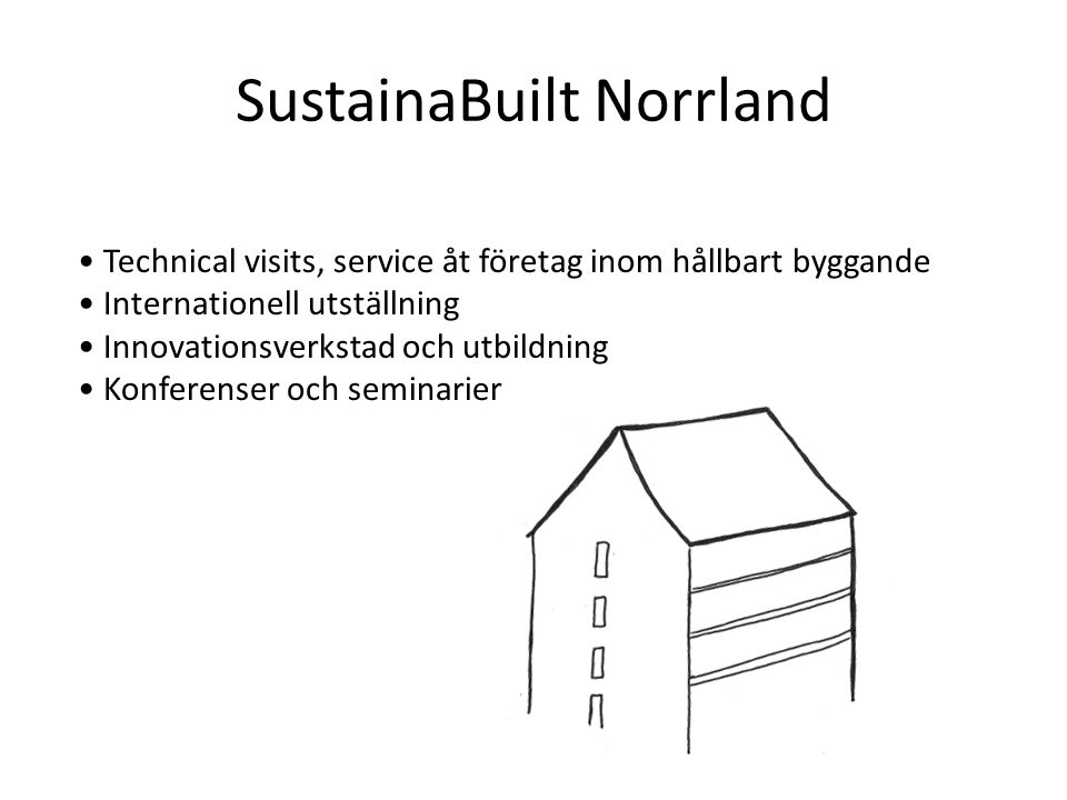 SustainaBuilt Norrland