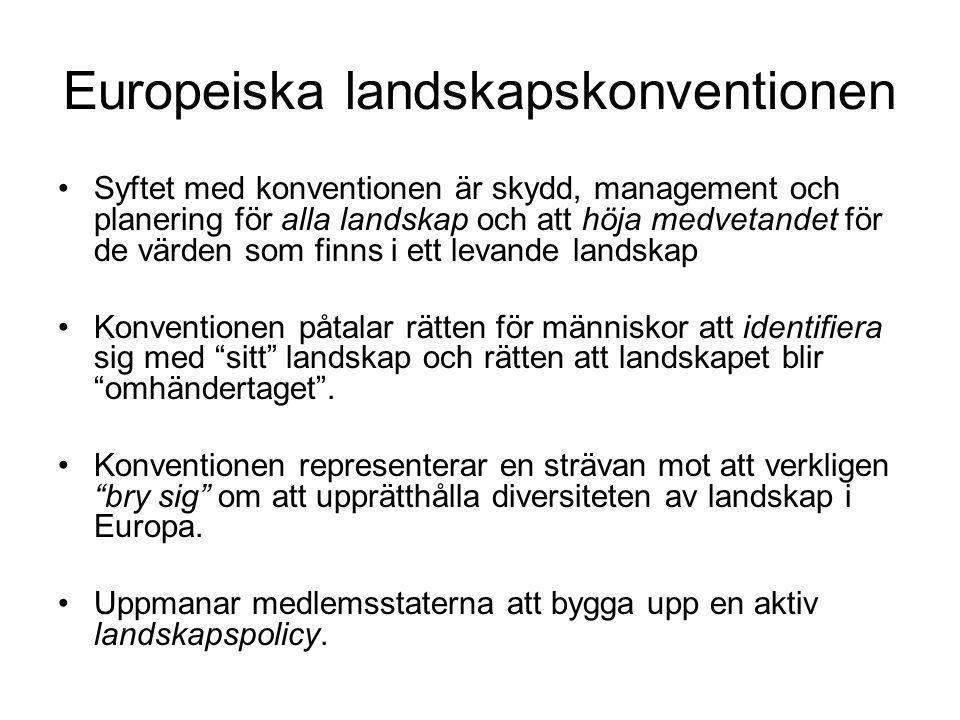 Europeiska landskapskonventionen