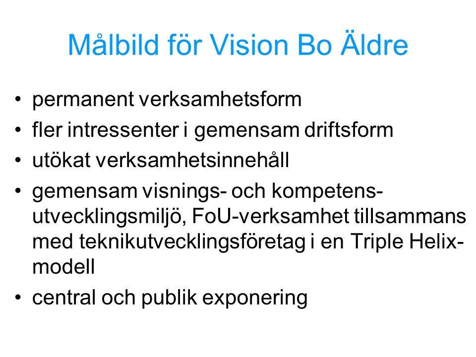 Målbild för Vision Bo Äldre