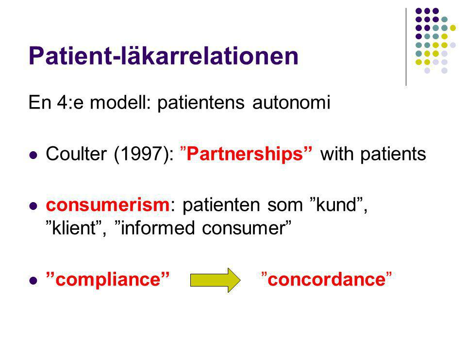 Patient-läkarrelationen