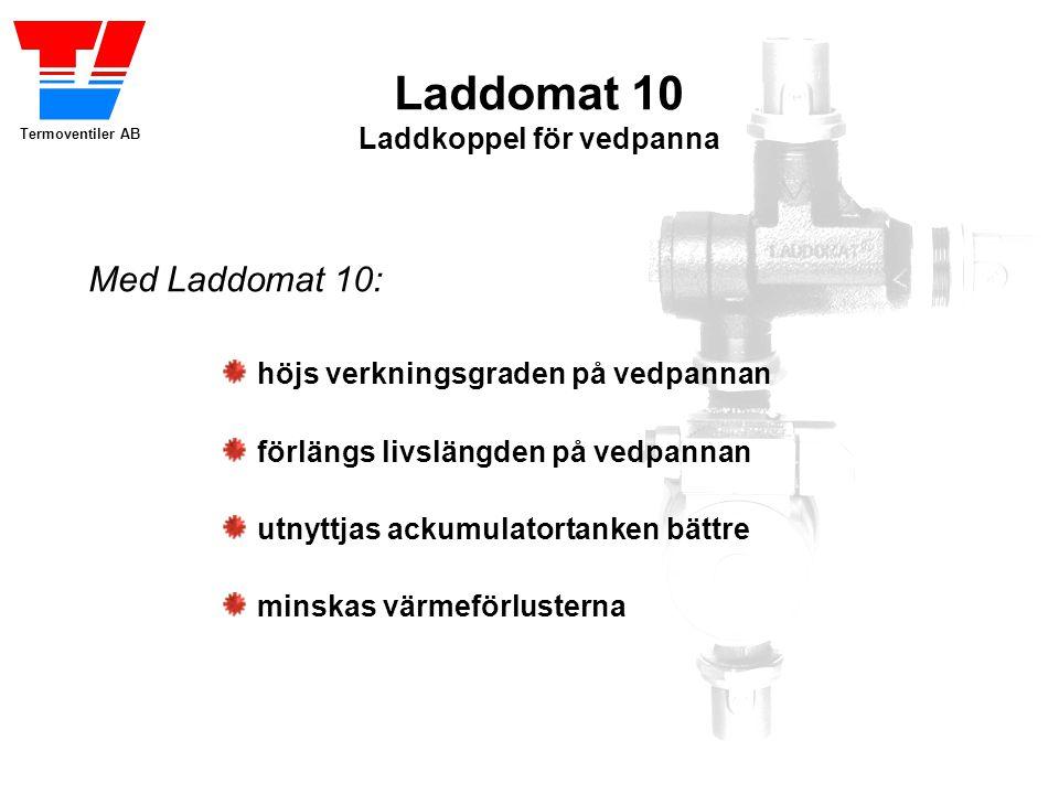 Laddomat 10 Laddkoppel för vedpanna