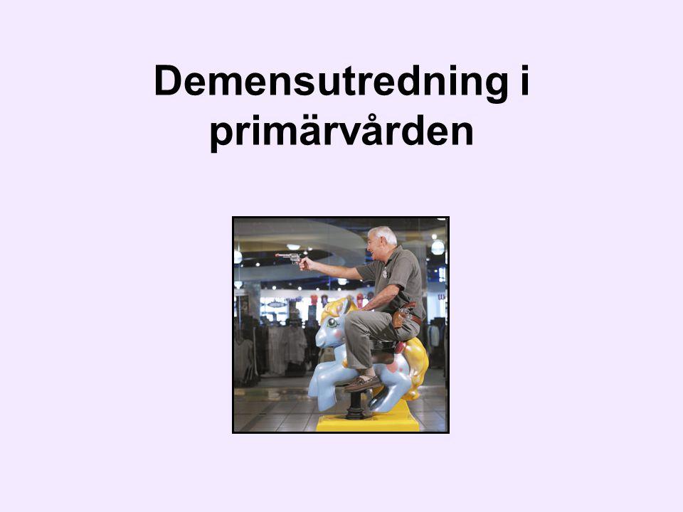 Demensutredning i primärvården