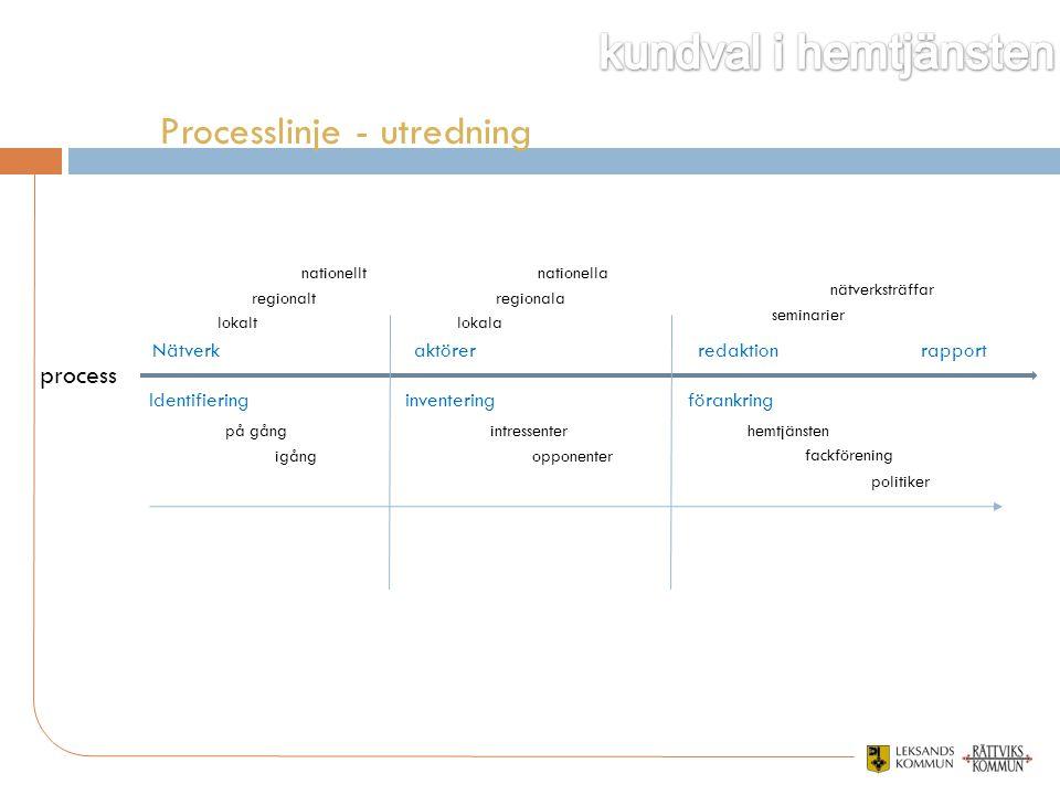 Processlinje - utredning